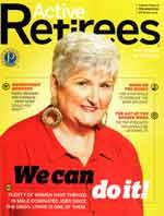 Active Retirees Magazine cover.