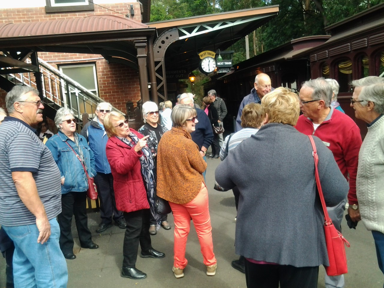 Trip to Puffing Billy