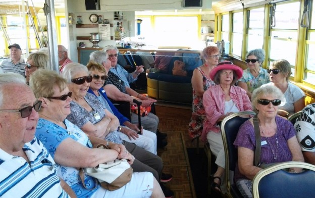 Tramboat outing